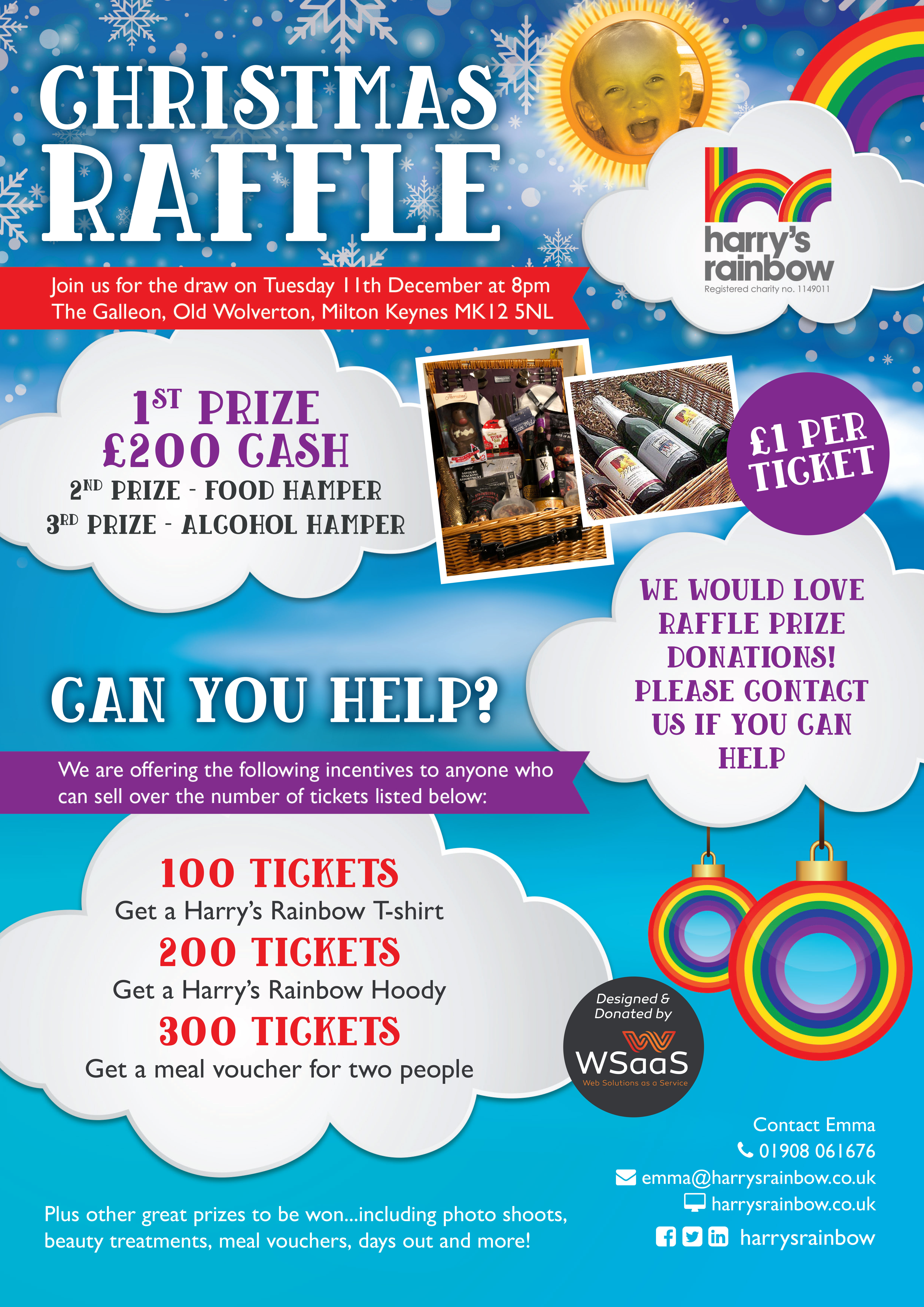Harry's  Rainbow  Christmas  Raffle-image